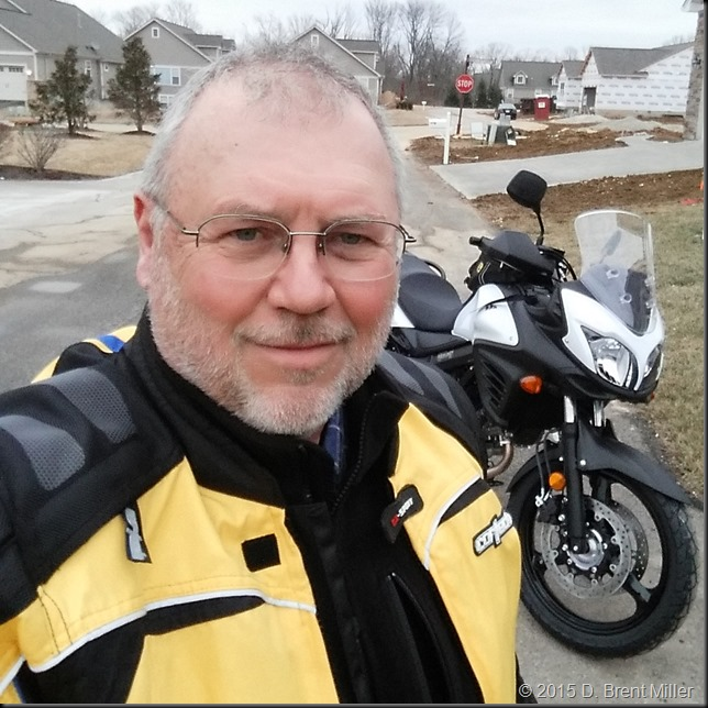 1st-ride on the new V-Strom