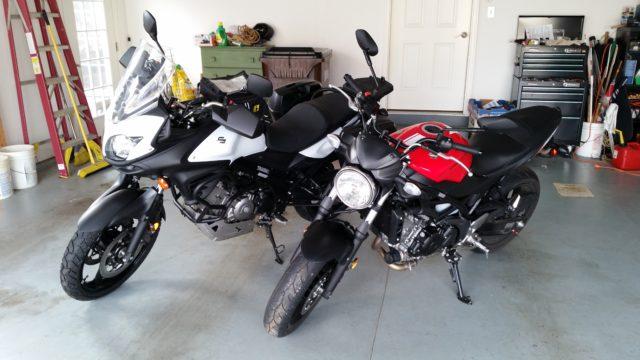 V-Strom 650 and SV650
