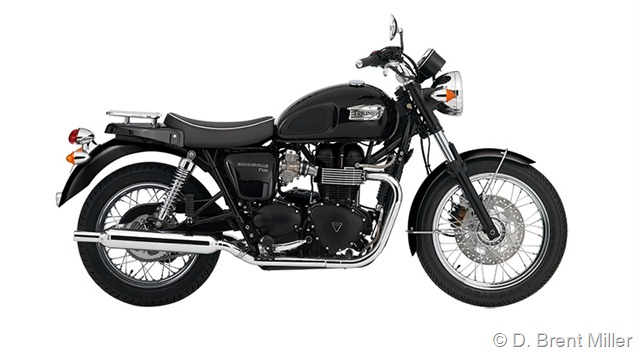 Triumph Bonneville T100 Single Seat #1