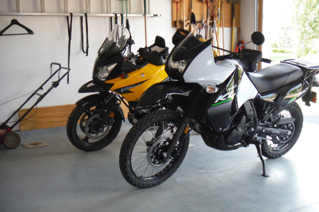 Klr 650 Seat Klr 650 The White One